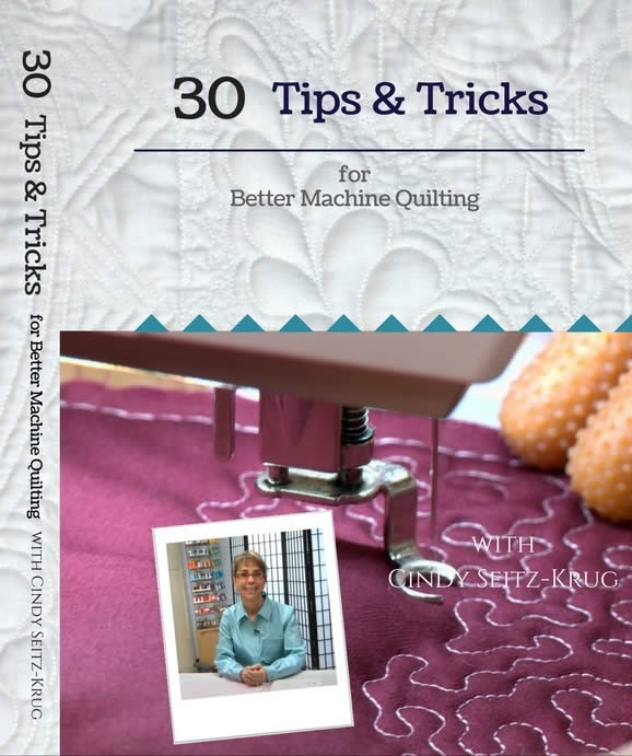 30 Tips & Tricks for Better Machine Quilting DVD