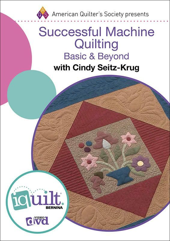 Successful Machine Quilting: Basic and Beyond training DVD