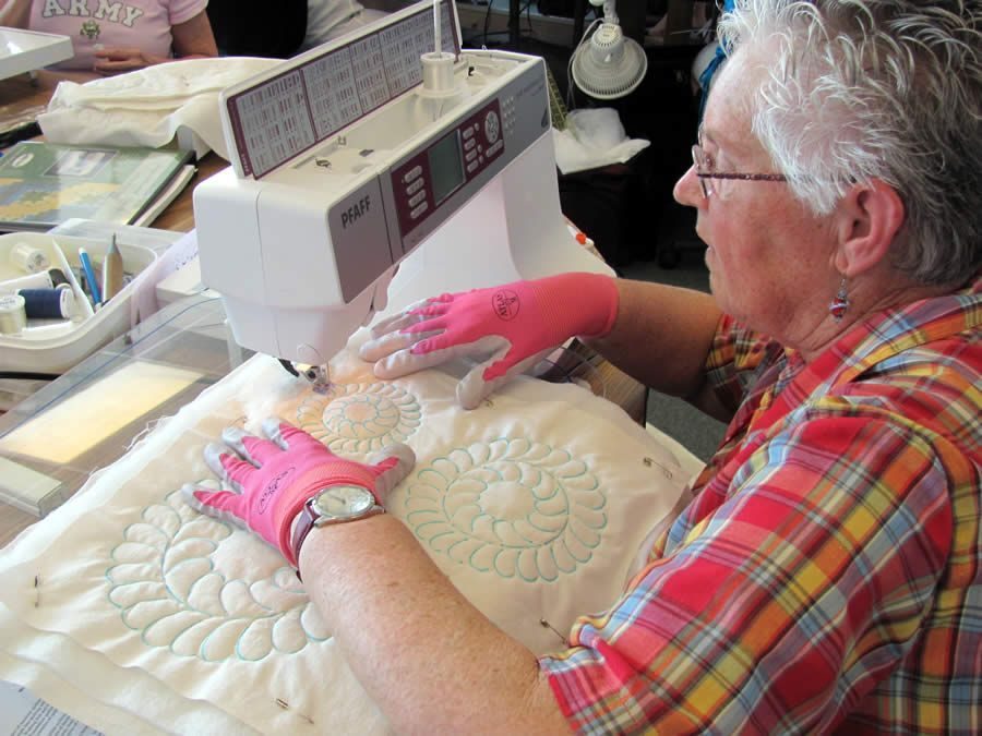 Beginning Machine Quilting class